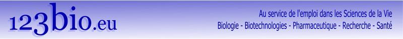 123bio.eu : Offres d'emplois spécialisées en Biologie